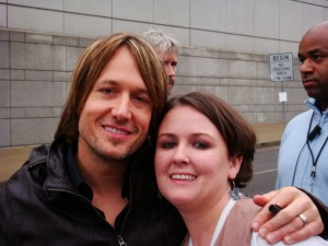 Fan story laken keith urban sounds like nashville lucky for us we had many viewers who were among the lucky fans outside the sommet center last wednesday that got to meet keith urban m4hsunfo