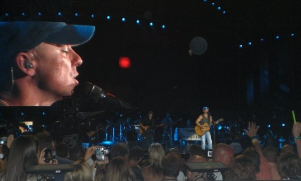 Throwback Thursday: Remember When Kenny Chesney Teared Up On Stage in Indianapolis?