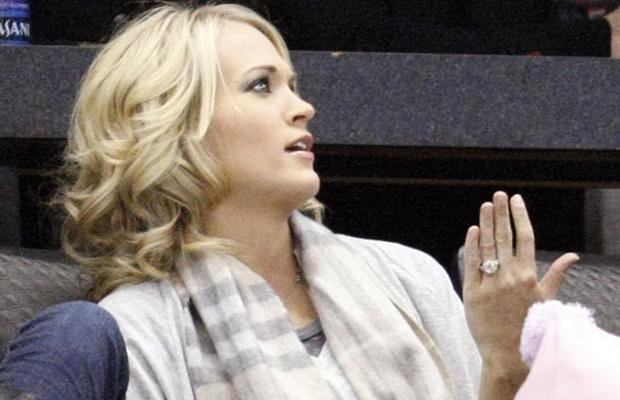 First Photos: Carrie Underwood\'s Engagement Ring! | Sounds Like ...