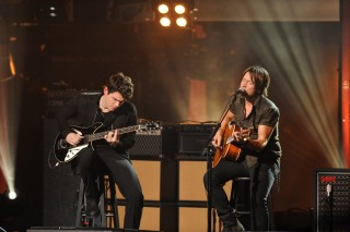 Remember When Keith Urban and John Mayer Shredded on Stage Together?