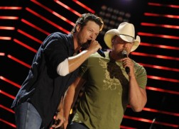 Blake Shelton Reveals He Learned To Be A Good Mentor From Trace Adkins