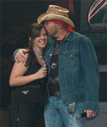 Toby keith mockingbird with daughter