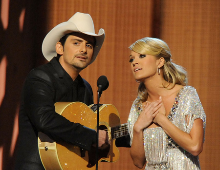 Carrie Underwood To Duet With Brad Paisley Sounds Like Nashville