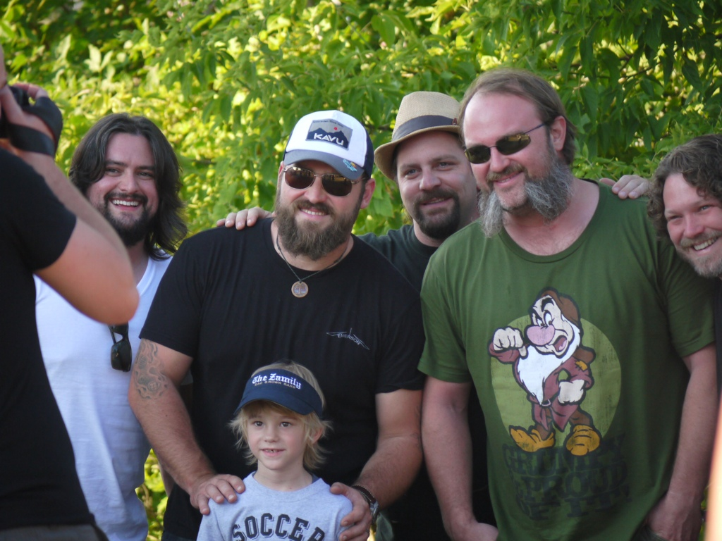 Zac brown band rocks country thunder sounds like nashville zac brown m4hsunfo