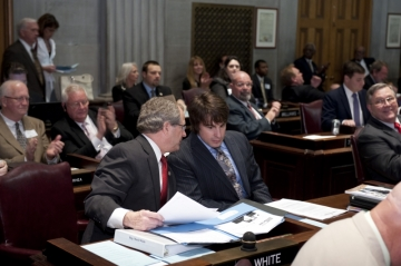 Jimmy Wayne Assists Representative Mark White Pass Critical Legislation for Foster Children