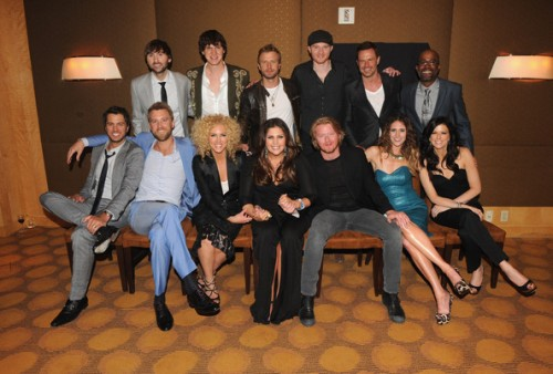 Capitol Records Nashville Artists Attend Label's ACM Awards After Party