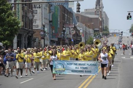 2012 CMA Fest Kicks Off With Free Parade and Block Party on June 6