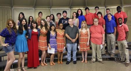 David Nail & Nashville School or the Arts Chamber Choir Prepare for CMA Fest Performance