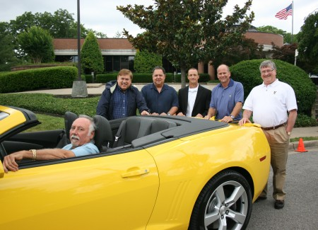CMA Hosted Chevrolet 'Ride And Drive' At Music Row Today