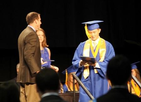 Scotty McCreery Wins CMT Award And Graduates High School