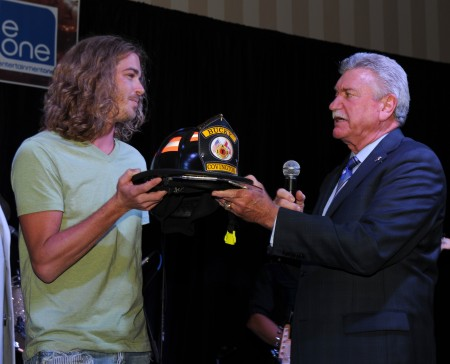 Bucky Covington Honored at 51st Annual IAFF Convention