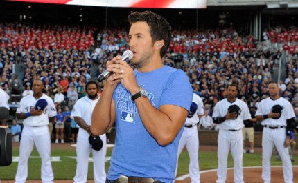 Luke Bryan Addresses National Anthem Controversy