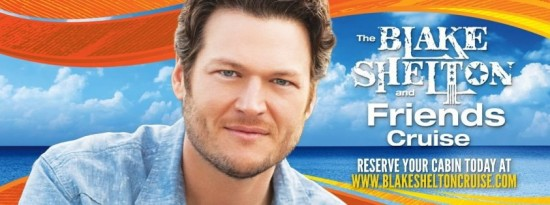 Blake Shelton Cruise Sets Sail TODAY!