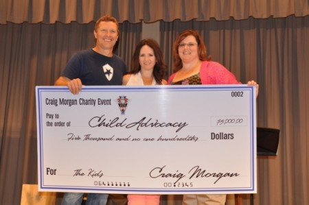 Craig Morgan's 6th Annual Charity Weekend Raises More Than $73,000 for Foster Children