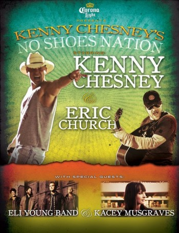 39025cee00ae0 You Could WIN a Travel Package to Attend Kenny Chesney s  No Shoes Nation  ...