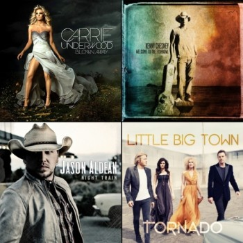 CountryMusicIsLove's 12 Favorite Albums of 2012