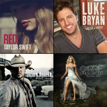 top 10 country music albums 2013