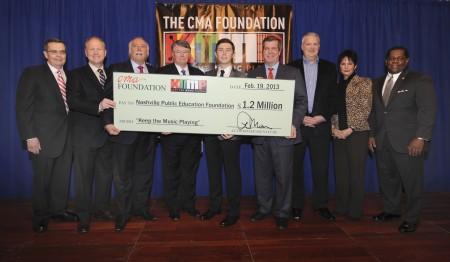The CMA Foundation Donates $1.2 Million to Metro Nashville Public Schools Through CMA's Keep The Music Playing Music Education Program