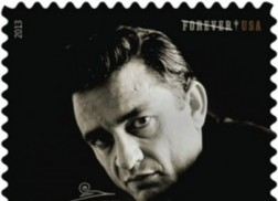 Johnny Cash Honored on New Postage Stamp