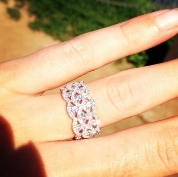 Whitney Duncan - Engagement Ring- CountryMusicIsLove