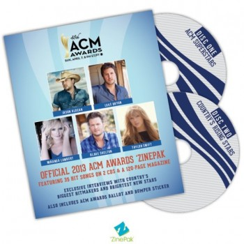 Jason Aldean, Luke Bryan, Miranda Lambert, Blake Shelton & More Featured in Official 2013 Academy of Country Music Awards 'ZinePak'