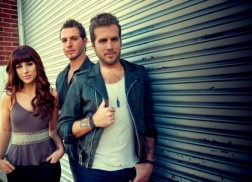 Gloriana Presented with Platinum Plaque for '(Kissed You) Good Night' at Fan Club Celebration