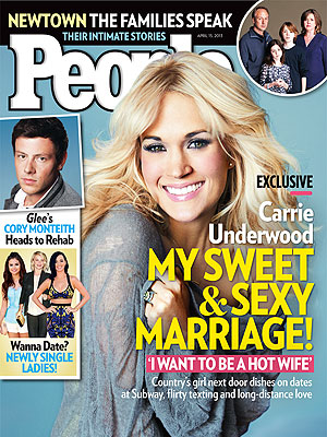 Carrie Underwood: 'I Want To Be A Hot Wife'