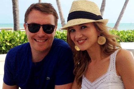 Sarah Darling Weds In Secret
