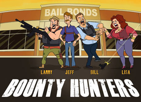 Kellie Pickler, Blake Shelton + Kix Brooks Get Animated for CMT's 'Bounty Hunters'