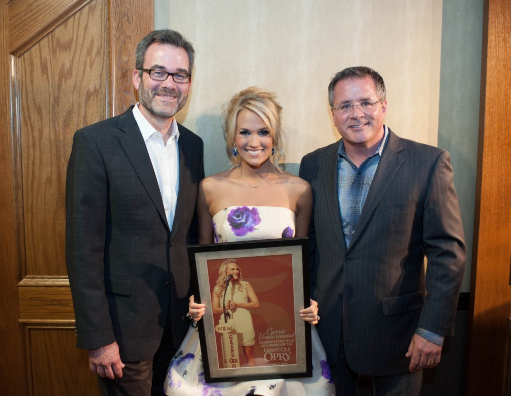 Carrie Underwood 5 year Opry Anniversary -  CountryMusicIsLove