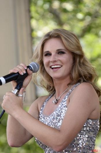 Kristy Lee Cook - 2013 CMA Fest - CountryMusicIsLove