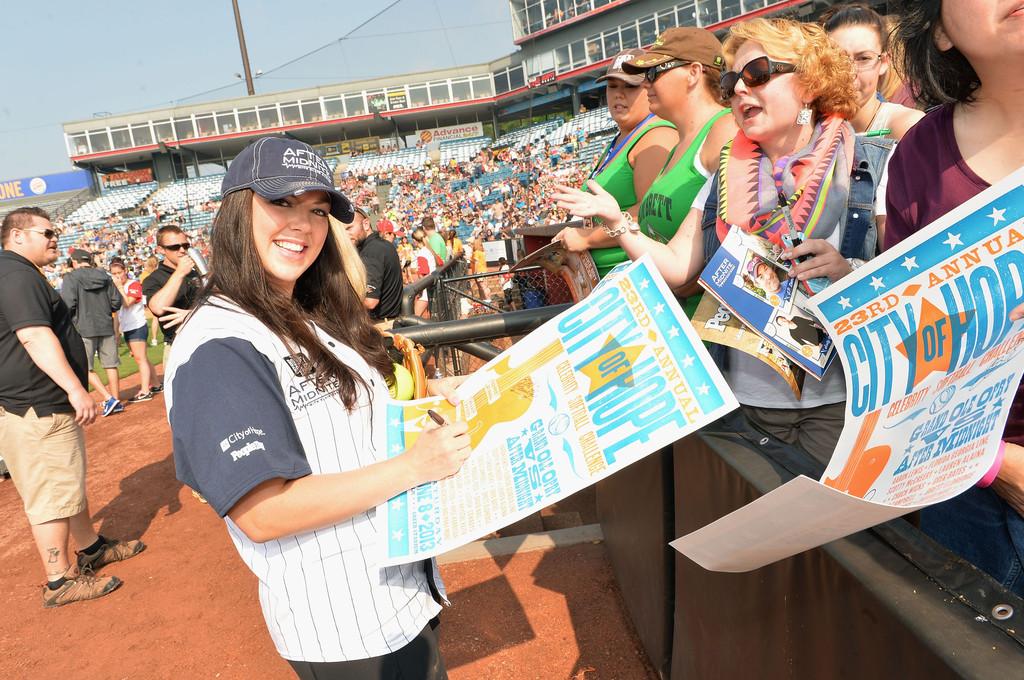 Krystal Keith - City of Hope Celebrity Softball Game - CountryMusicIsLove