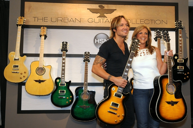 keith urban and hsn reveal new urban guitar collection sounds like nashville. Black Bedroom Furniture Sets. Home Design Ideas