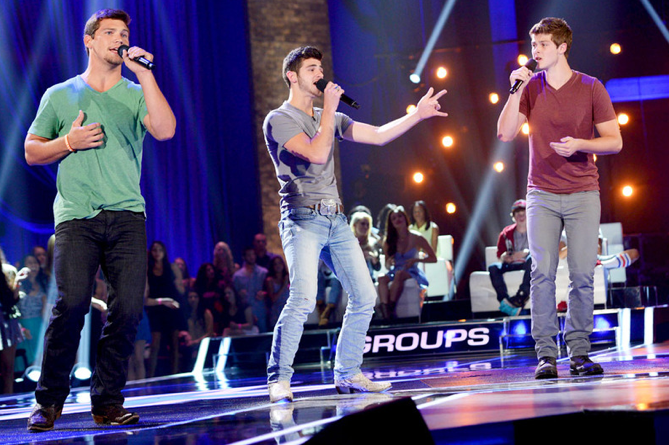 x factor recap four chair challenge week 2 â boys and groups