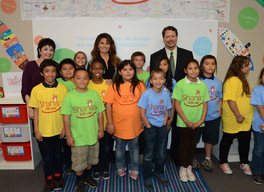 Shania Twain Kids Can Photos By Denise Truscello  Oct 21 2013