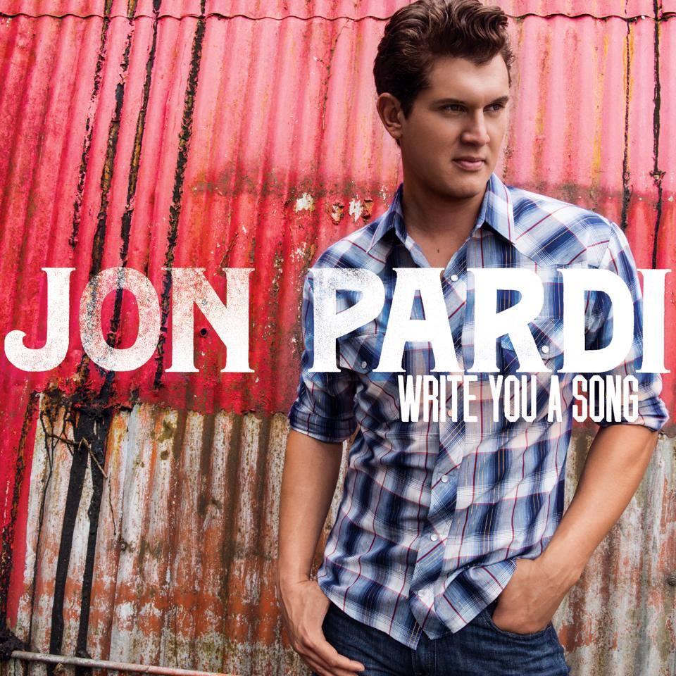 Jon Pardi: Jon Pardi To Release Debut Album, 'Write You A Song