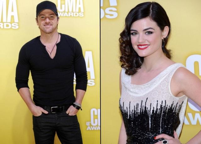 Kip Moore, Lucy Hale - CMA Awards