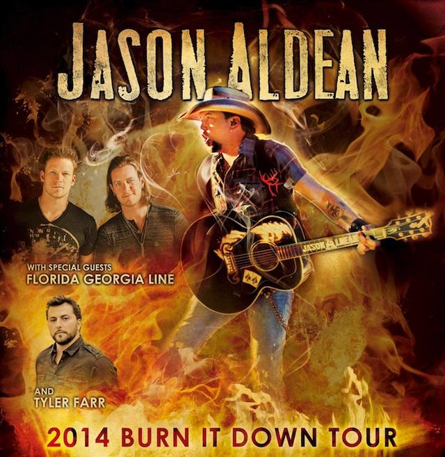 Jason Aldean Burn It Down Tour Dates