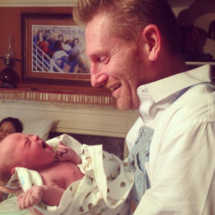 Joey and Rory Baby
