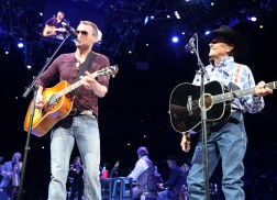 George Strait Welcomes Special Guests at Final Nashville Show