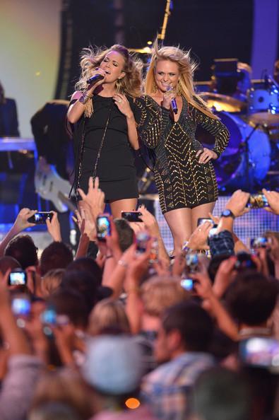 Carrie Underwood Miranda Lambert - 2014 CMT Music Awards- CountryMusicIsLove