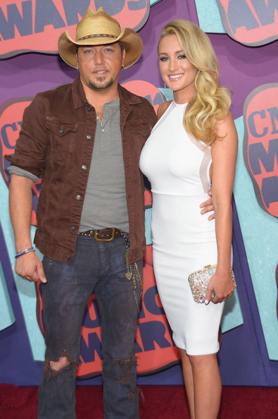 Jason Aldean Brittany Kerr - 2014 CMT Music Awards