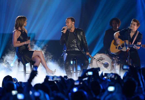 Jennifer Nettles John Legend Hunter Hayes - 2014 CMT Music Awards- CountryMusicIsLove