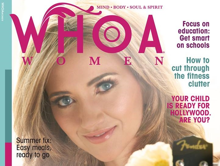 Get The Look: Sarah Darling's 'Whoa Women' Magazine Cover