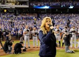Danielle Bradbery, Trisha Yearwood Perform the National Anthem at Major Sporting Events