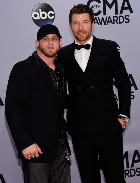 Brett Eldredge - Brantley Gilbert - 48th Annual CMA Awards - CountryMusicIsLove