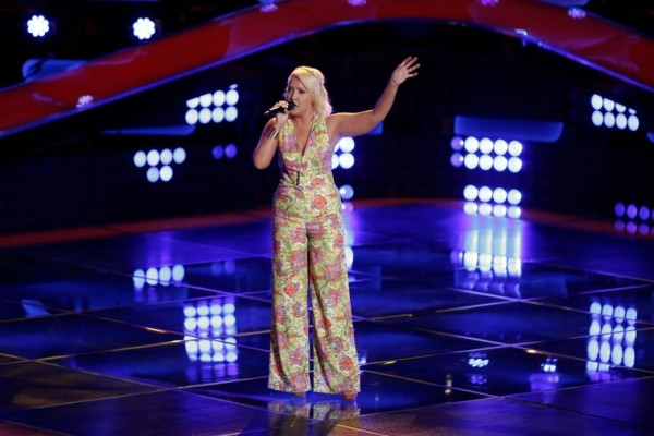 Meghan Linsey Auditions For 'The Voice'