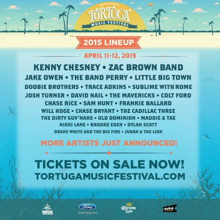 win a trip to the third annual tortuga music festival sounds like nashville. Black Bedroom Furniture Sets. Home Design Ideas