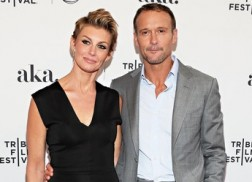 Faith Hill, Tim McGraw Attend 'Dixieland' Premiere at Tribeca Film Festival