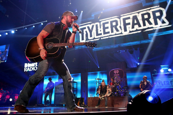 tyler farr - 2015 iheartradio country music festival